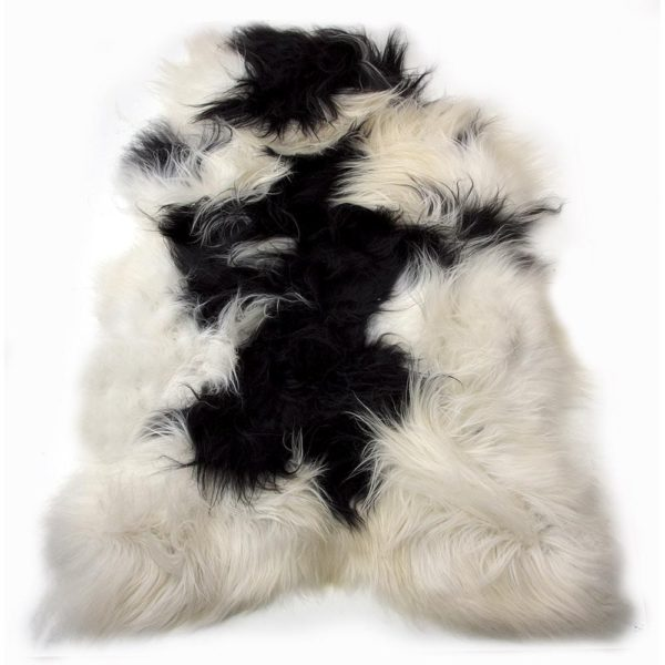 Fur Sheep Iceland Colored   Leather / fur 105x60x5cm Mars & More
